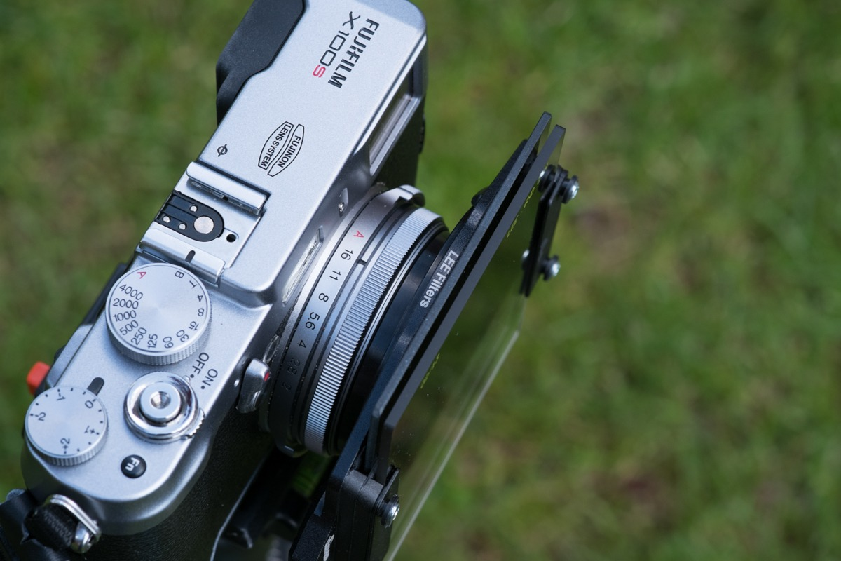 The FujiFilm X100 and the Lee Seven5 System