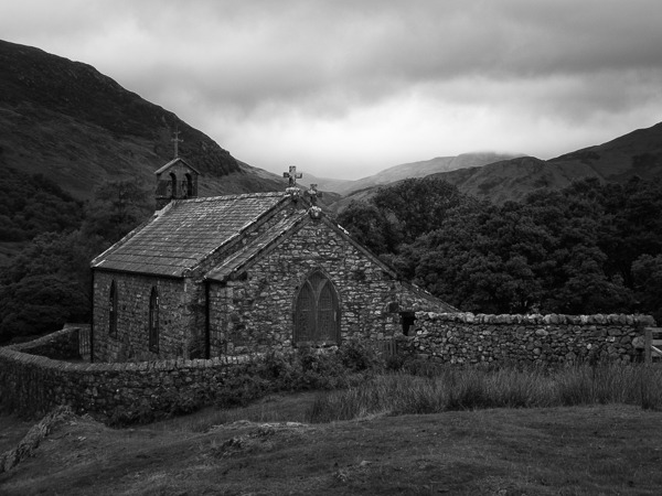 Old Church, Mono, Fujifilm X-M1