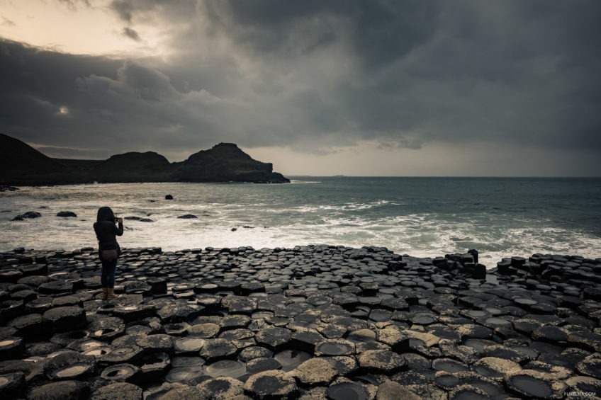 Photography at the Giant's Causeway