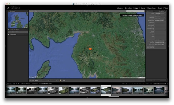 Lightroom and Geotagging