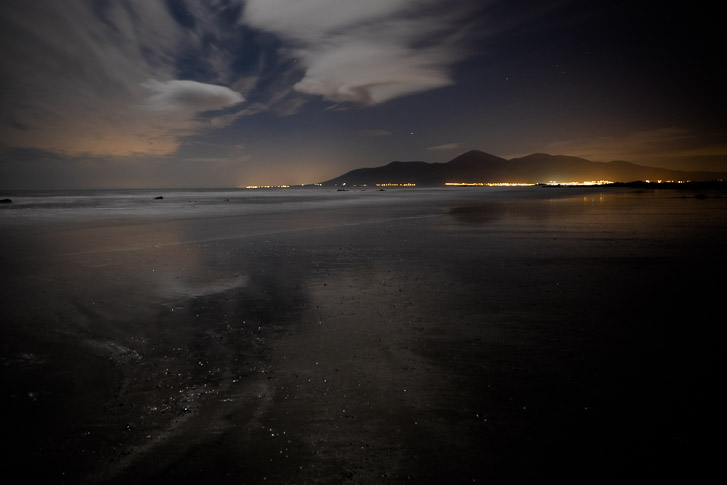Newcastle lights, County down