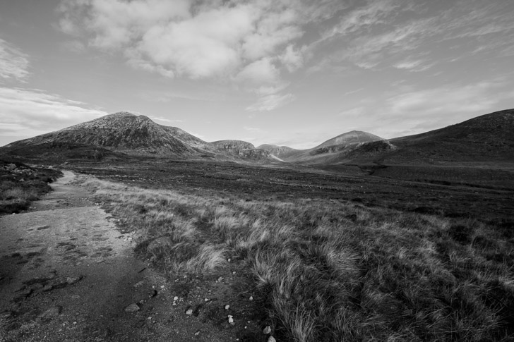 Mourne mountains blue lough