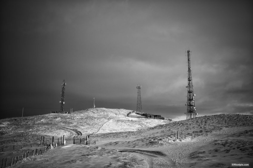 Slieve Croob Radio Towers