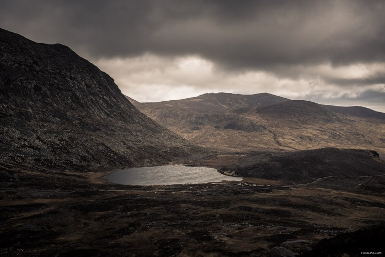 The Blue Lough, Mournes