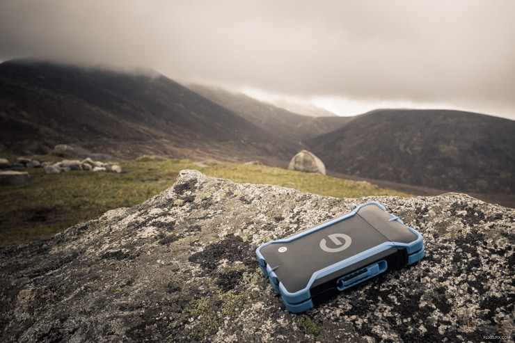 G-Tech EV ATC in the Mourne Mountains