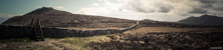 The Mourne wall panorama