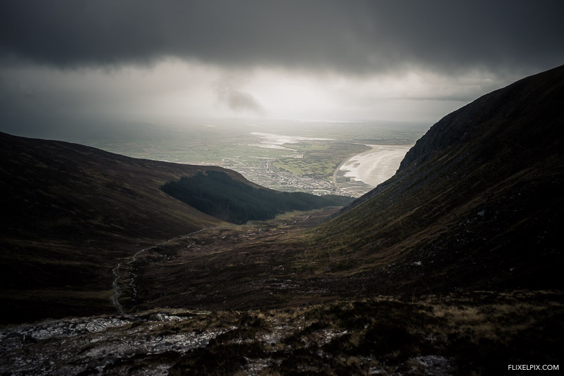 The View from Slieve Donard Saddle