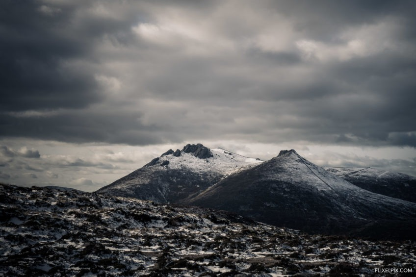 Slieve Bearnagh Snow