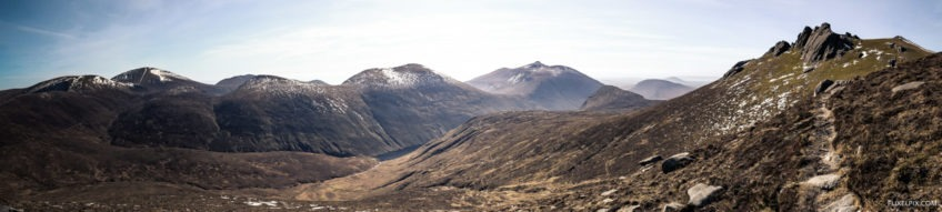 Bearnagh Panorama
