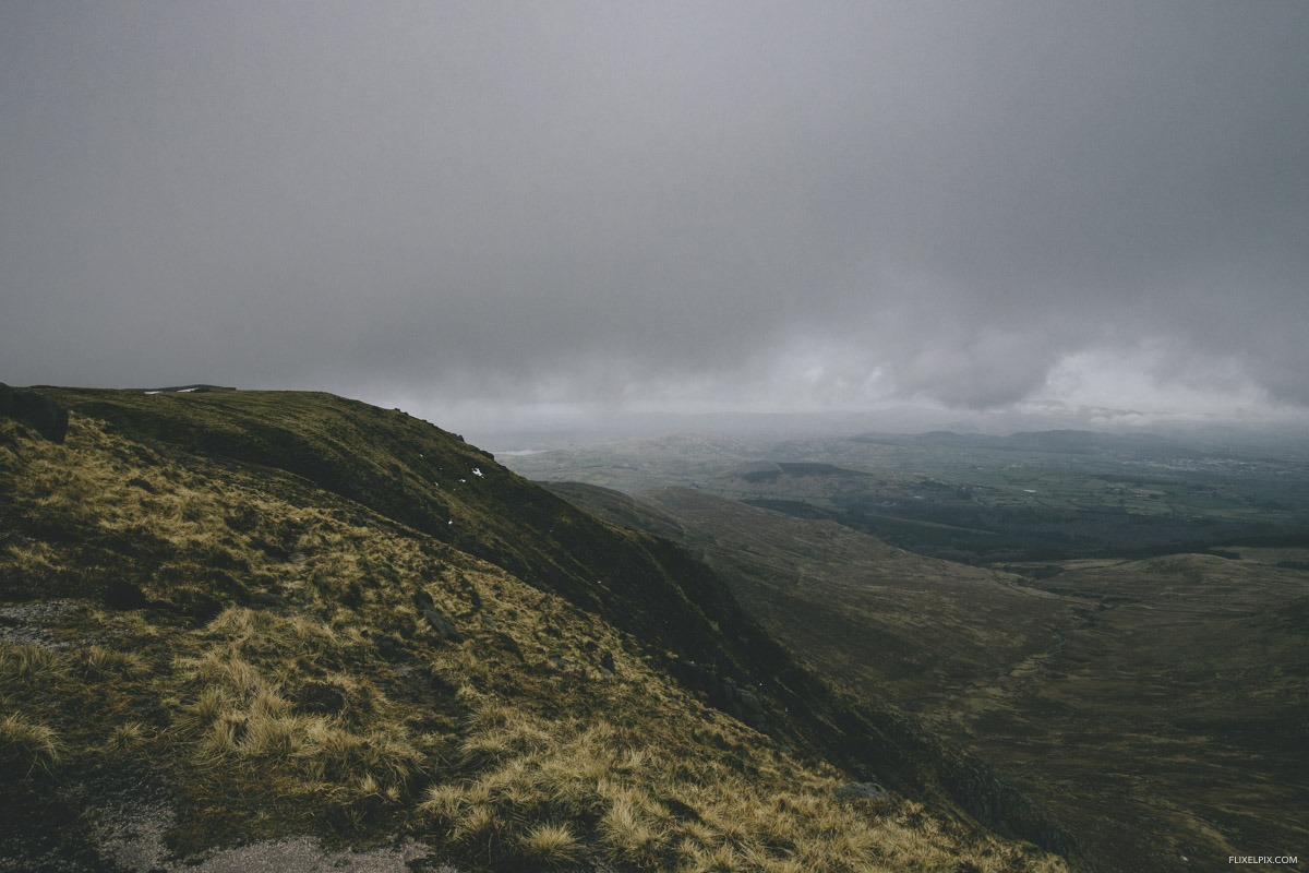 the view from commedagh