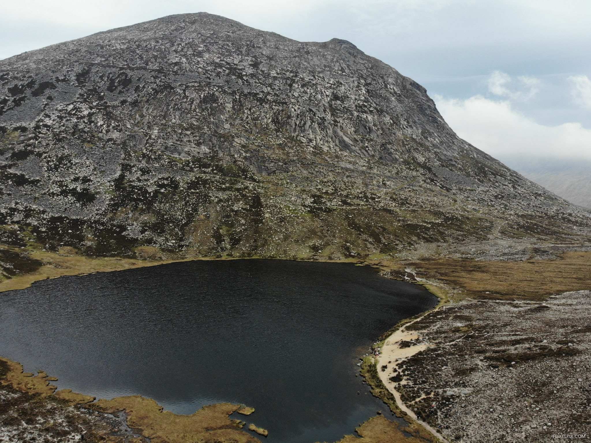 The Blue Lough, the mournes